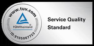 TÜV Rheinland Service Quality Standard