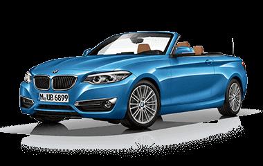 NKL Gewinne Auto blauer BMW
