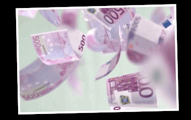 SKL Euro-Joker Rente 1.000 Euro im Monat Geldscheine