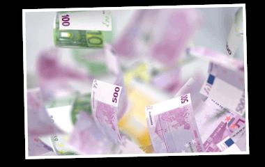 SKL Euro-Joker Gewinne Rentenlotterie Geldscheine