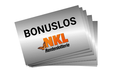 Bonuslose NKL-Rentenlotterie