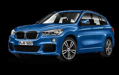 BMW X1 freigestellt