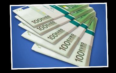 Geldscheine SKL Euro-Joker Jede Stunde Gewinne