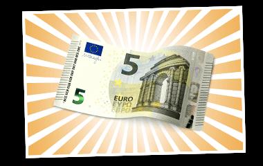 SKL Traumjoker - 5 Euro Gewinne
