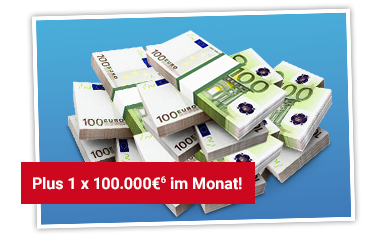 TRAUM-JOKER Gewinn 1 x 100.000 € im Monat