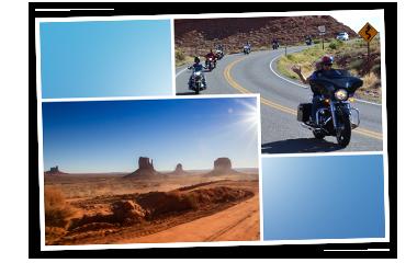TRAUM-JOKER Gewinn Motorradreise Arizona