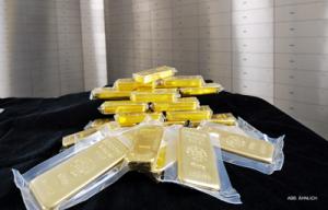 Goldbarren im Wert von 50.000 €