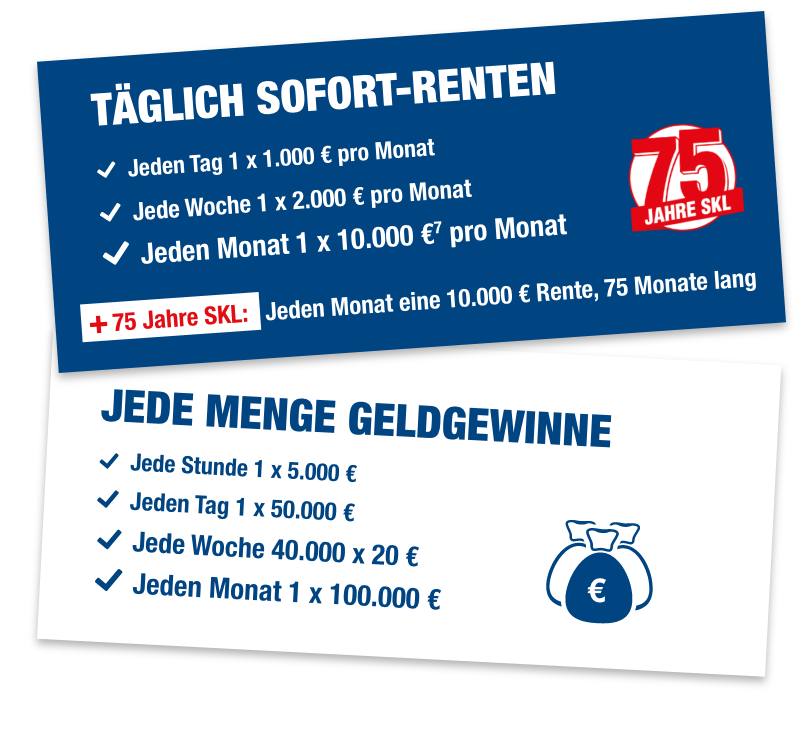 Euro-Joker Gewinne