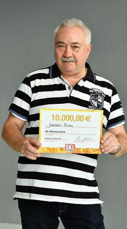 Gewinner SKL Millionen-Event 2020 – Jürgen Rühl